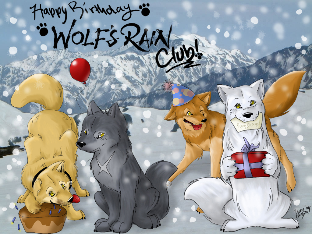 С днём рождения волк открытки 53